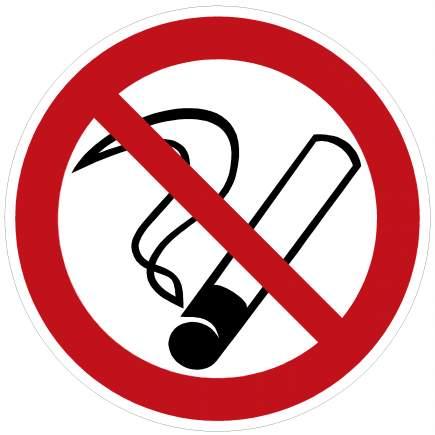 Знак не курите в лесу